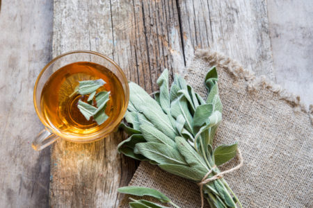 hot flashes herbs sage
