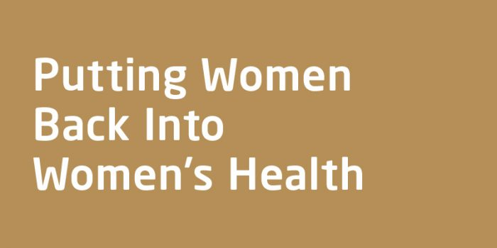Podcast with Michelle Marie McGrath on Putting Women Back Into Women's Health